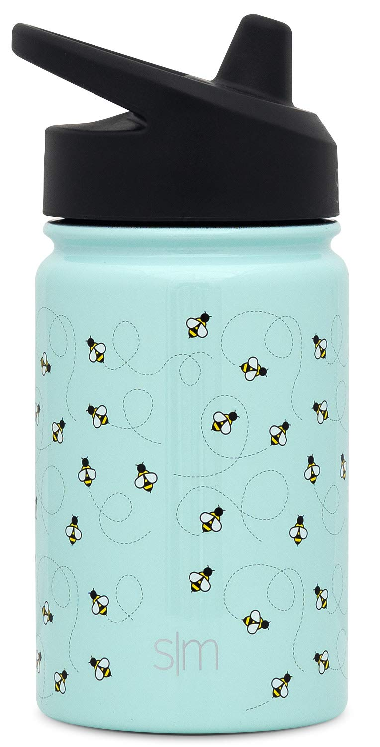 Simple Modern Summit Sippy Cup for Toddlers Wide Mouth Water Bottle Vacuum Insulated 18//8 Stainless Steel Powder Coated