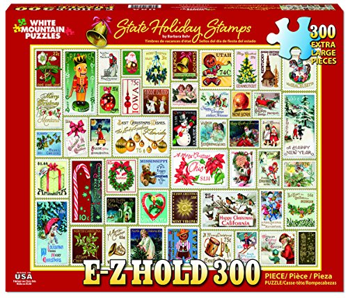WHITE MOUNTAIN 1332 White Mountain State Holiday Stamps