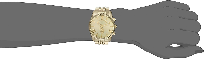 Amazon.com: U.S. Polo Assn. Women's USC40058 Gold-Tone Watch: Watches