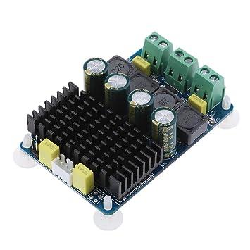 perfk TDA7498 Clip de Amplificador de Potencia de Altavoces Sonido, 2 Canales x 100W,