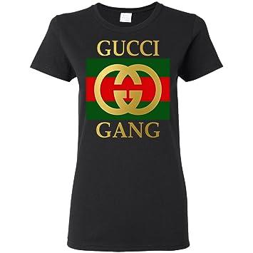 7a43f318edb Gucci Gang Doré T-Shirt pour Femme - Noir - pour Femme