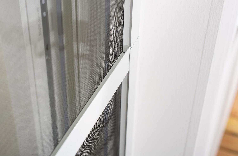 Moustiquaire Porte Battante /à Charni/ères MASTER SLIM PLUS Alu Sans encadrement Fibre de verre Protection anti-insecte Anti-mouche Cadre en aluminium Toile en Fibre de verre