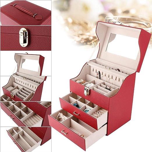 Linen Tassel Decor Necklace Ring Bracelet Pendant Jewelry Gift Holder Case Box