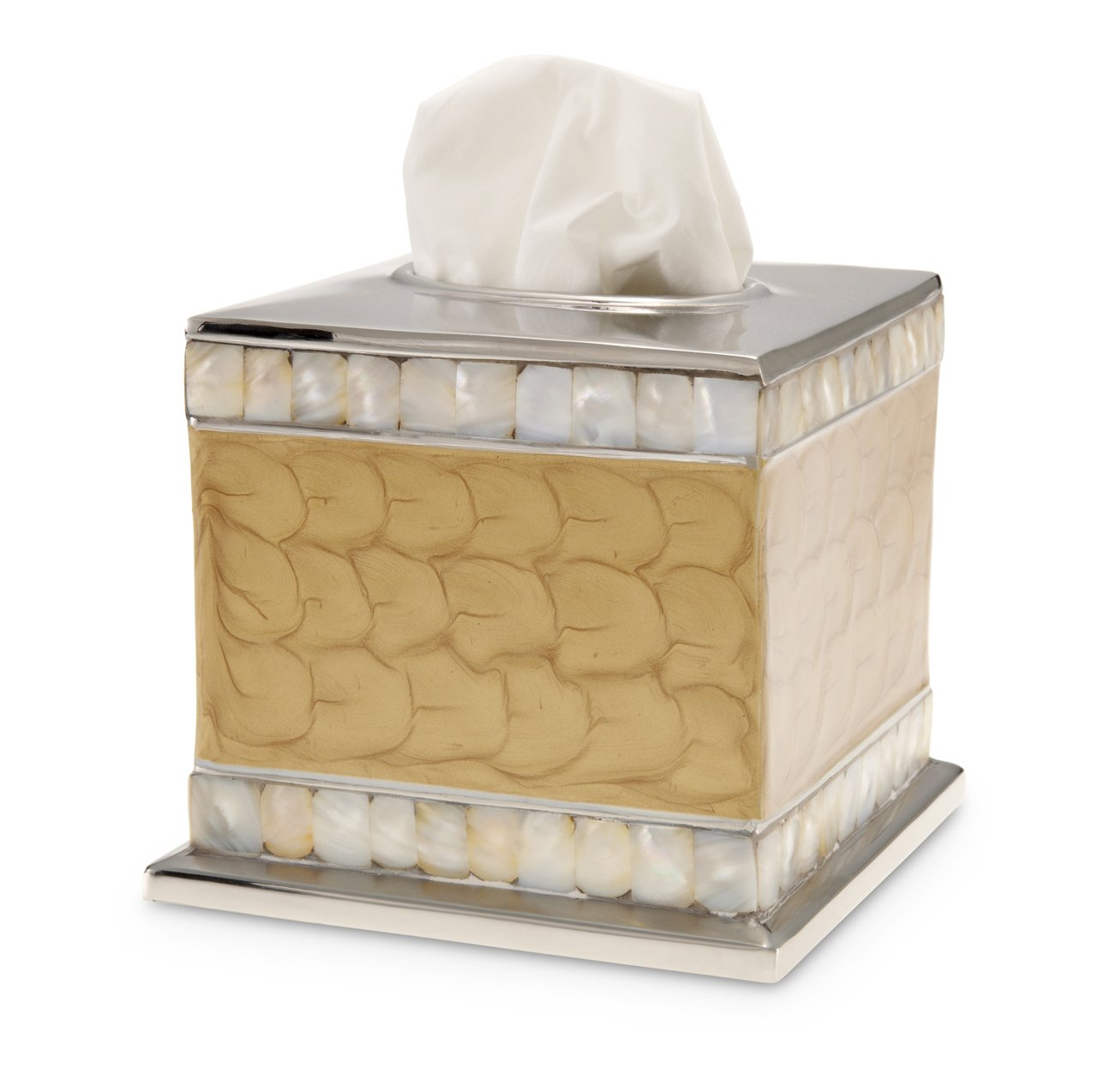 Julia Knight Classic 5'' Tissue Cover Toffee Bath Collection One Size