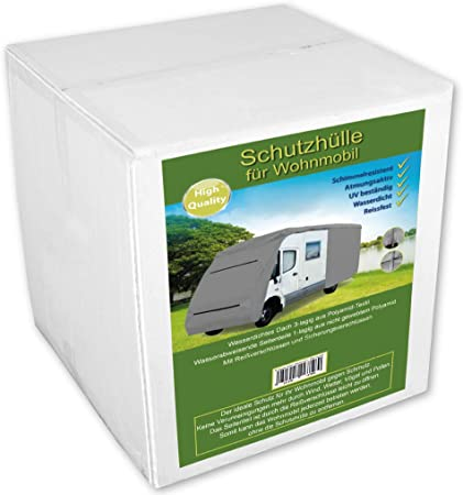 Bestlivings Motorhome Protective Cover For Caravan Camping Mobile Various Sizes From 6 1m To 8 7m Length Küche Haushalt