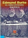 El Descontento Político, Edmund Burke, 9681653076