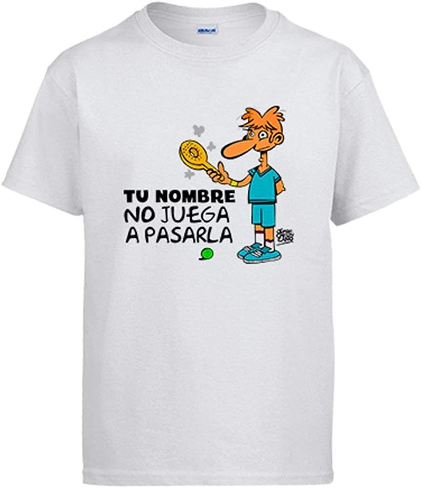 Camiseta Padel yo no Juego a pasarla Personalizable con Nombre ...
