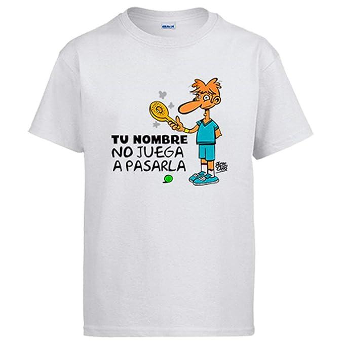 Diver Bebé Camiseta Padel yo no Juego a pasarla Personalizable con Nombre: Amazon.es: Ropa y accesorios