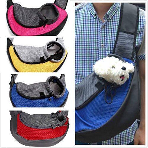 (Flower cat pet bag Pet Carrier Cat Puppy Small Animal Dog Carrier Sling Front Mesh Travel Tote Shoulder Bag Backpack)