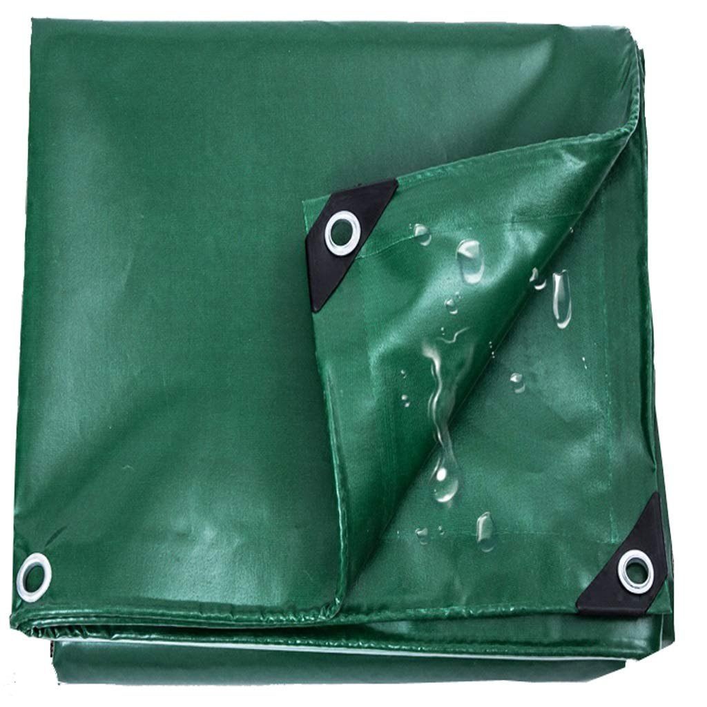 4x5m BÂche verte, abri de tente de pique-nique de camping en plein air rembourré, résistant au vieillisseHommest et à la corrosion, fait de couverture de haute qualité pour la couverture de meubles de jardin
