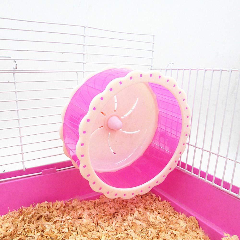 MJBABY Hamster Toy Rueda de Rueda muda Rueda de Rueda hámster ...