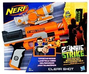 Hasbro Nerf Zombie Strike Z.E.D. Squad Clear Shot