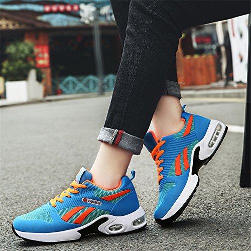 Per Traspirante Estate Cuscino Pu Comfort Outdoor Corsa Sneakers Autunno Un Da Scarpe Donna Casual Primavera A Indossare D'aria gqEWnH7I1w