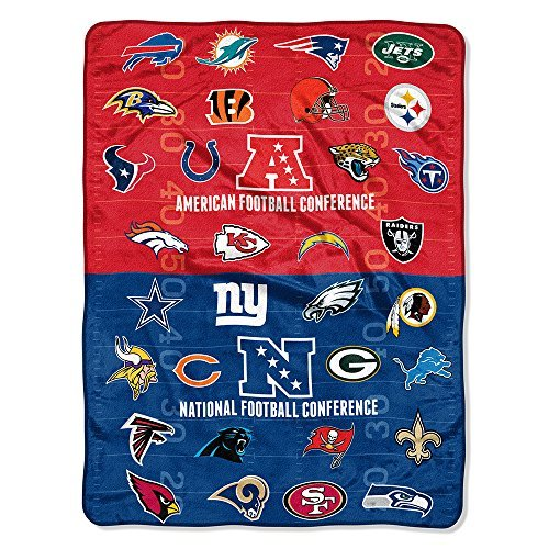 - Northwest NFL Super Plush Throw Blanket