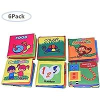 6 Libros de Tela para Bebé/ Libros