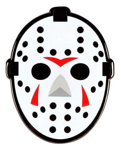 Pinaddict Hockey Goalie Mask Lapel Pin Tie Tack Friday The 13th Jason Emblem