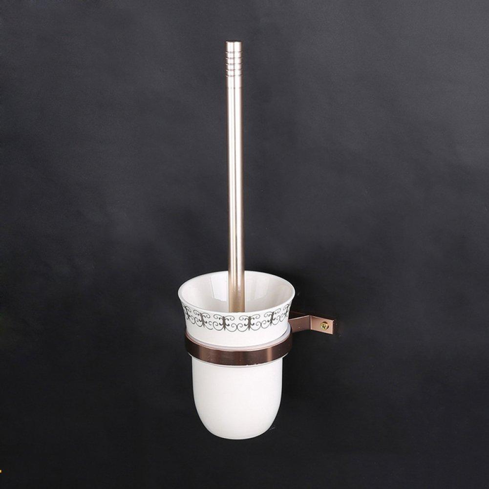 GZF klo bürstenhalter Tyrant Gold Toilettenbürstenhalter Europäische Keramik Bad Bad spezielle Toilettenbürste Toilettenbürstengarnitur