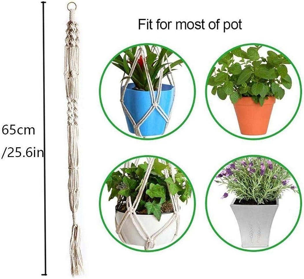 Lazinem Plant Hanger Garden Flower Pot Holder Countyard Hanging Rope Basket Fire Pit /& Outdoor Fireplace Parts