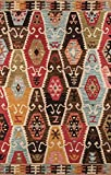 Momeni Rugs TANGITAN-2MTI3656 Tangier Collection, 100% Wool Hand Tufted Tip Sheared Transitional Area Rug, 3'6″ x 5'6″, Multicolor Review