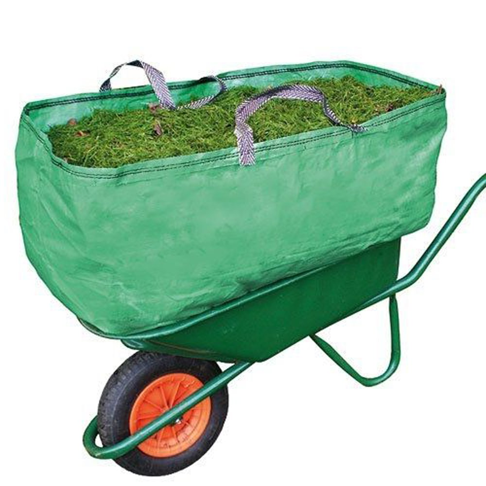 Spares2go Garden & Farm Wheelbarrow Carrier Bag Heavy Duty Capacity Increase (270 Litre)