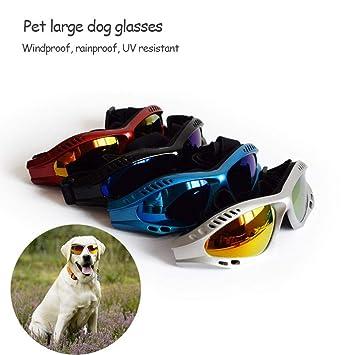 Pawaca Gafas de Sol para Perros de Mascotas, Cachorro Gafas de Protección UV Gafas de