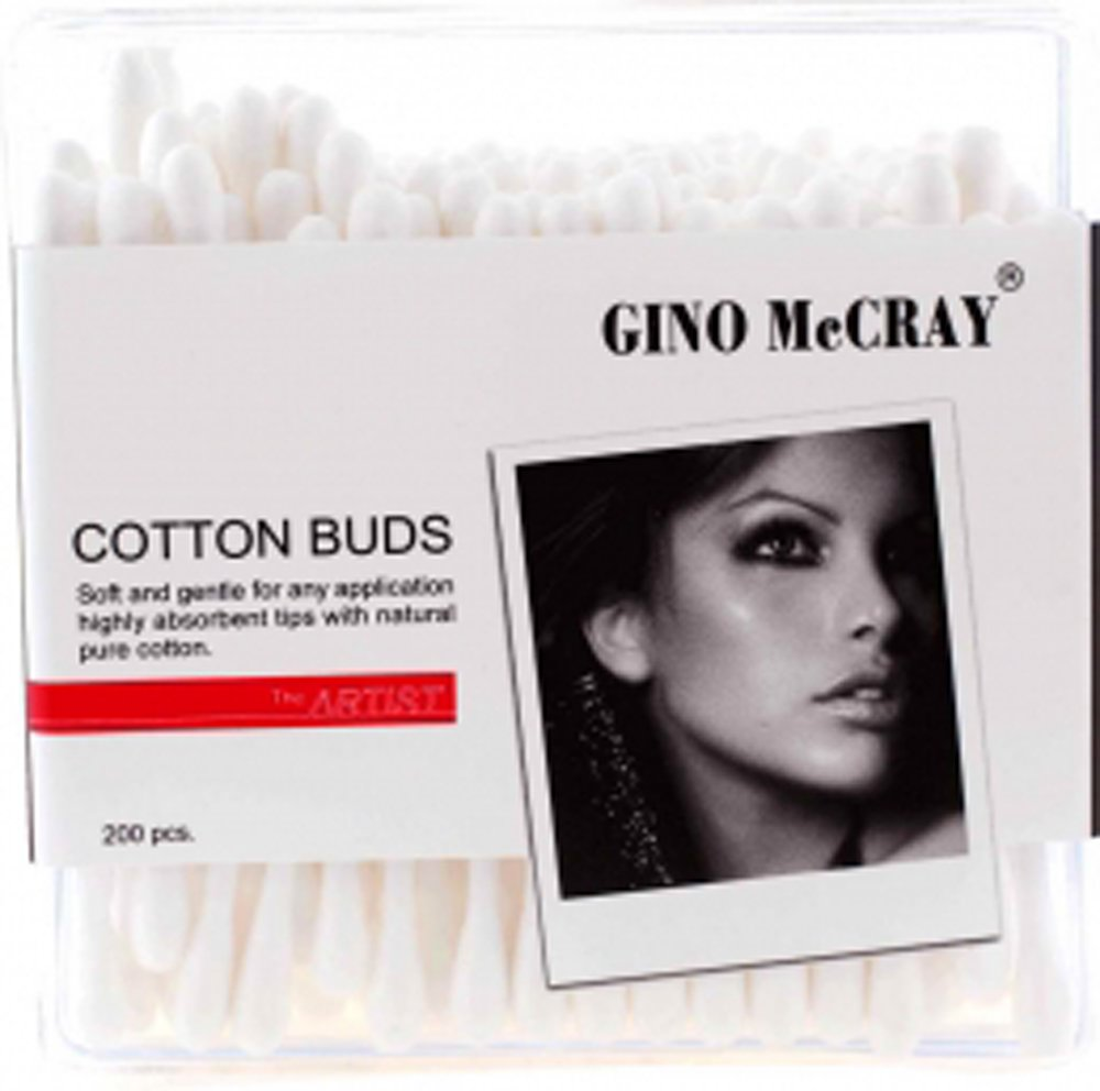 GINO McCRAY Cotton Bud Professional - For Makeup [ 5-Packs]