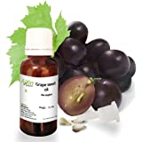 Allin Exporters Cold Pressed Grape Seed Oil - 100% Pure and Natural – Natural Moisturizer and Antioxidant for Skin, Hair and Nails – Perfect for Skin And Body Massage – Excellent Anti-aging Oil Due to Presence of Vitamins E, C and D