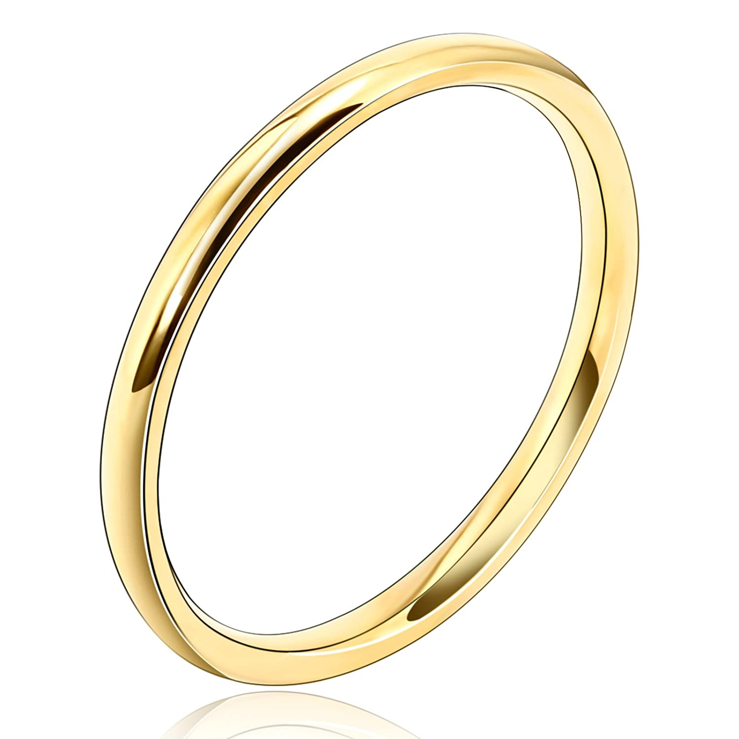 Adisaer His and Hers Ring Wedding Bands Silver Plated 2MM Width Comfort Fit Rings for Couple Size 7-12