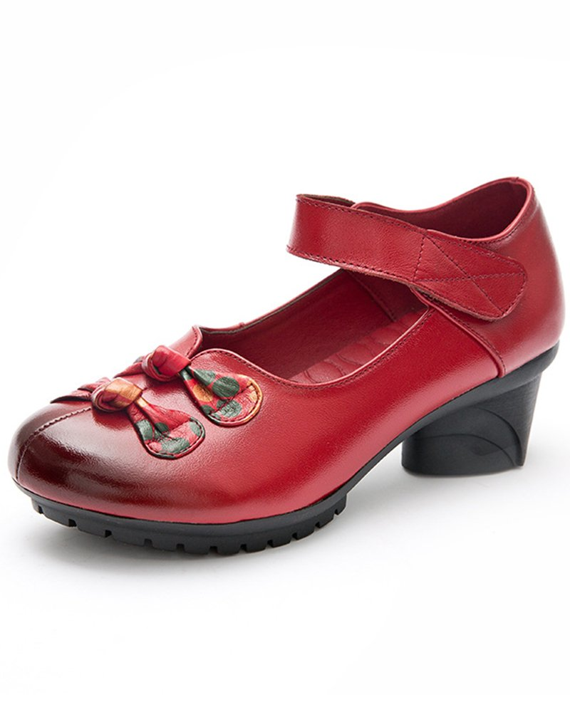 Mrs B075RZDV6Z Duberess 2 Mary Janes Duberess pour Femme Style 2 Red 86e5b53 - automatisms.space
