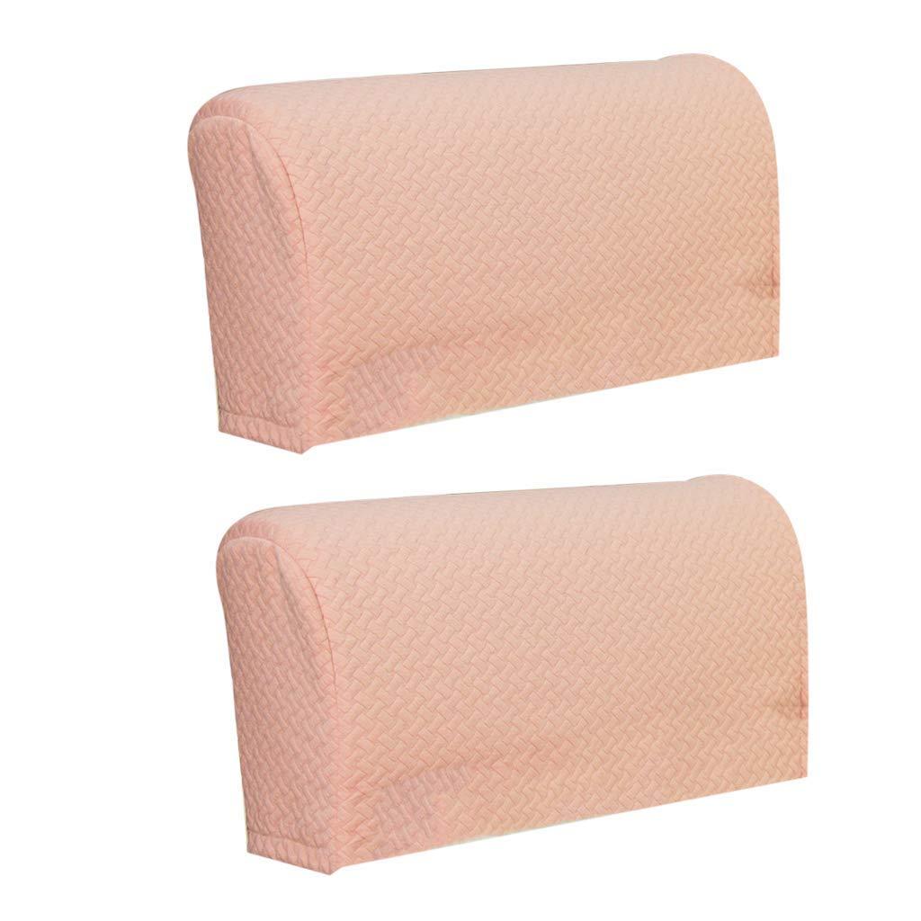 2 Stück Armlehnenschoner Sesselschoner Polsterschutz Sesselzubehör