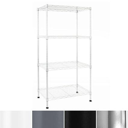 Amazon.com: casa pura Metal Storage Shelves | Wire Shelving ...