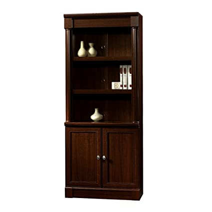 Office desk cabinets Industrial Cherry Library Bookcase Shelves Wooden Cabinets Storage Office Desk Home Furniture Corner Vertical Rectangular Tall Rustic The Office Leader Amazoncom Cherry Library Bookcase Shelves Wooden Cabinets Storage