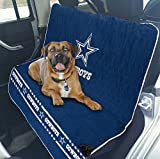 Pets First NFL CAR SEAT Cover – Dallas Cowboys Waterproof, Non-Slip Best Football Licensed PET SEAT Cover for Dogs & Cats.