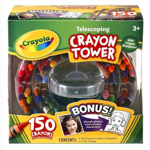Crayola 150 Count Telescoping Storage Sharpener