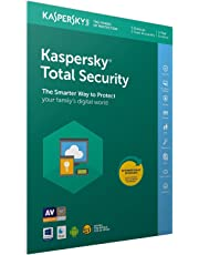 Kaspersky Total Security 2018   5 Dispositivos   1 Año   PC / Mac / Android   Código dentro de un paquete
