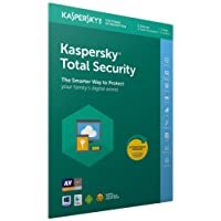 Kaspersky Total Security 2018 | 5 Dispositivos | 1 Año | PC / Mac / Android | Código dentro de un paquete