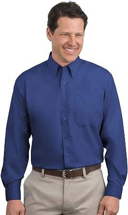 Port Authority Mens Long Sleeve Easy Care Shirt
