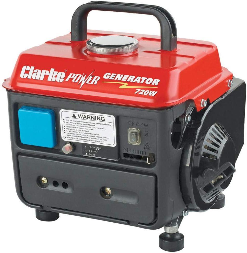 Clarke G720 2 Stroke Petrol Generator-G720