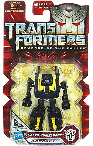 Transformers 2 Revenge of the Fallen Movie Hasbro Legends 2010 Series 1 Mini Action Figure Stealth (Stealth Bumble Bee)