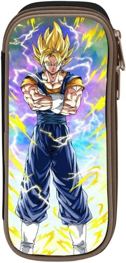 Dragon Ball Z Anime Goku - Estuche escolar para estudiantes y niñas, negro, ONE_SIZE: Amazon.es: Amazon.es