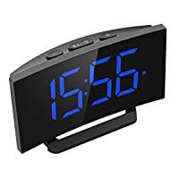 Deals on Mpow Digital Alarm Clock w/5-in Curved LED Screen