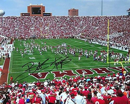 Oklahoma Sooners Collectibles - Bob Stoops Autographed Oklahoma Sooners 16x20 Photograph - Certified Authentic