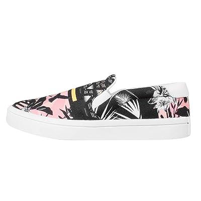Adidas Courtvantage Slip On W, multi-couleur / noir