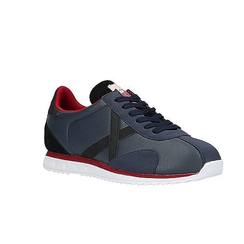 Zapatilla Hombre Munich Sapporo 32 Azul: Amazon.es: Zapatos y complementos