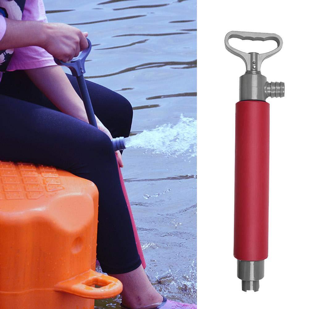 IrahdBowen 46 cm L/änge Kajak Handpumpe hochfesten Nylon Kunststoff effiziente Tragbare Schwimmende Hand Bilgenpumpe Rettet Kanu f/ür Kanu