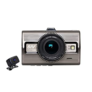 Top Dawg TD2CAMPRIME Prime Eagle 1080P Dual DVR Dash Camera with Incredible Night Vision