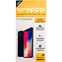 Ultra Wrapsol Apple iPhone XS Ön/Arka Ekran Koruyucu