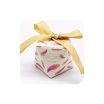 Amazon.com: Cajas de caramelos de estilo diamante, color ...