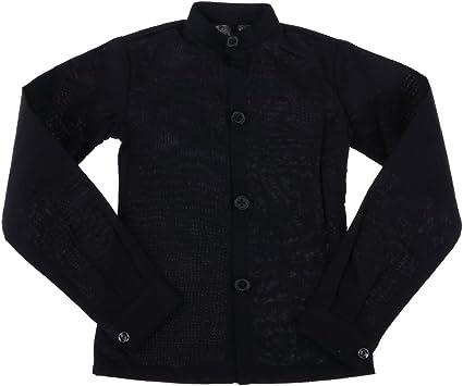 Amazon.es: 1/3 Hombre BJD Camisa Negra De Cuello Alto Ropa para Muñecos Tíos Normales De 70 Cm: Juguetes y juegos