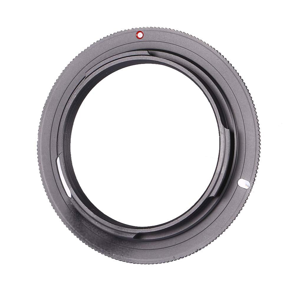 Acouto レンズアダプターリング 互換性のあるスレッドと滑らかなインターフェース マクロリバースリング M42からPK用   B07MLX3L4C